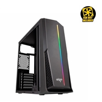 PC CASE AIGO DarkFlash RAINBOW 6 Acrylic Side Panel ATX/M-ATX VGA Supported Computer Gaming Case