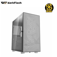 PC CASE DARKFLASH LUXURY DLM21 MESH  Micro ATX Mini ITX Tower Micro-ATX WHITE