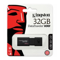 USB Drive Kingston DataTraveler 32GB USB Flash Drive Memory Stick PC MAC USB 3.0 100MB/s