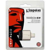 Multi Card Reader Kingston MobileLite G4 USB 3.0 Multi Memory Card Reader MicroSD Card SD Card Reader