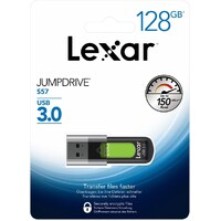 USB 3.0 128GB Flash Drive Lexar JumpDrive S57 Memory Stick (150MB/s) | LJDS57-128ABGN