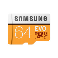 Samsung Evo 64GB Micro SD Card SDXC UHS-I 100MB/s Mobile Phone TF Memory Card 4K U3
