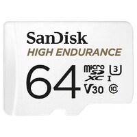SanDisk 64GB High Endurance Micro SD Card SDXC UHS-I Dash Camera Surveillance Body Cam TF Memory Card