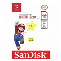 SanDisk 256GB Nintendo Licensed Micro SD Card SDXC UHS-I TF Memory Card For Nintendo Switch