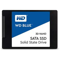 "WD Blue SSD 500GB Western Digital Internal Solid State Drive Laptop 3D Nand 2.5"" SATA III 545MB/s"